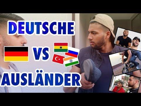 DEUTSCHE VS. AUSLÄNDER 😂 !!