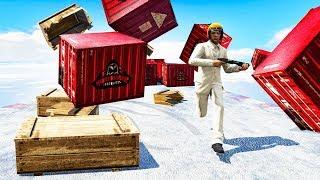 SURVIVE WORLD'S BIGGEST SNOW AVALANCHE! (GTA 5 Minigames)