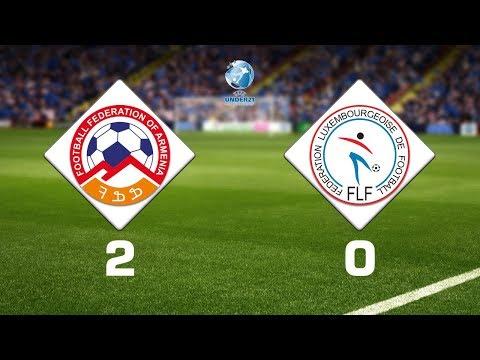 Armenia U21 - Luxembourg U21 2:0, U21 EURO-2021 Qualifiers