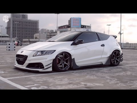 【統哥】Rexxstyling widebody Honda CR-Z [ ENG SUB ]