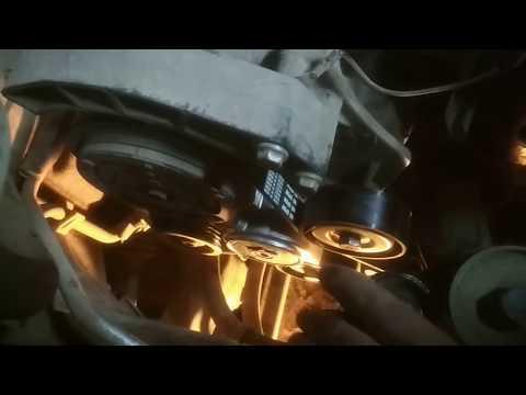 Замена ремня ГРМ, генератора и помпы на Фиат Альбеа