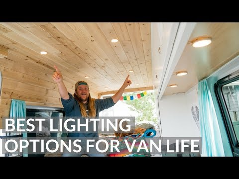 AMAZING LIGHTING option for TINY HOME | VAN LIFE
