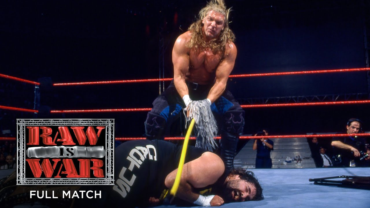 FULL MATCH - Cactus Jack vs. Triple H – Falls Count Anywhere Match: Raw, September 22, 1997
