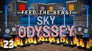 FTB Sky Odyssey Ep. 23 Max Tardis Power + Easy Beast Coins!