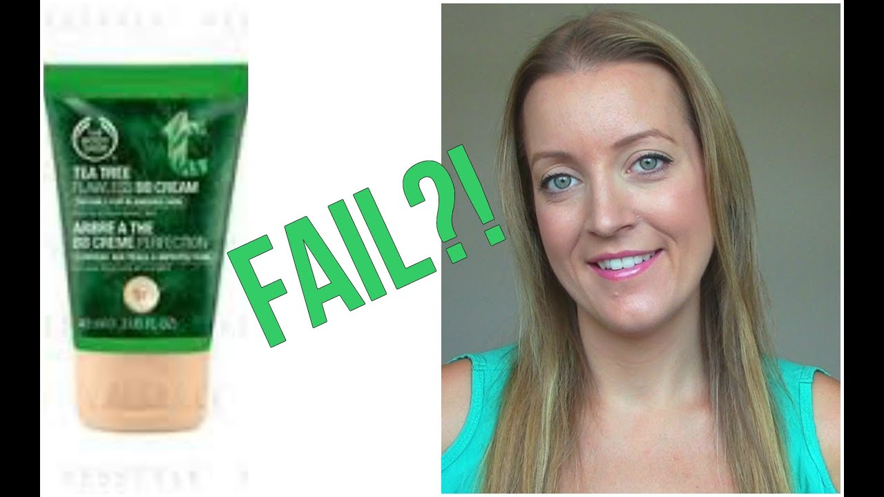 New tea tree bb cream review the body shop youtube for Bb shopping it