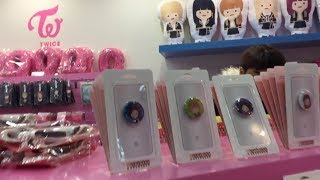 트와이스 (TWICE) Store Hongdae Tour + Unboxing