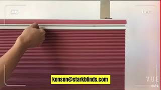 Top Down Bottom Up Cordless Honeycomb Blinds