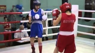 Бокс среди девушек первенство ДВФО