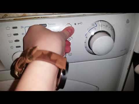 Как работает стиральная машина аристон