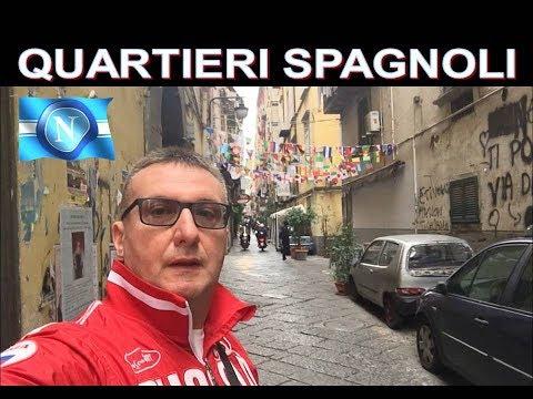 Quartieri Spagnoli Napoli con Lambrenedetto !!!