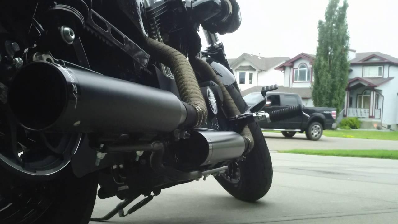 2016 Harley Davidson Sportster Forty Eight with Rinehart Slip-on Exhaust,