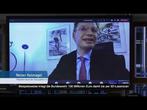 IHK-TV - Reiner Holznagel spricht vor der Vollversammlung