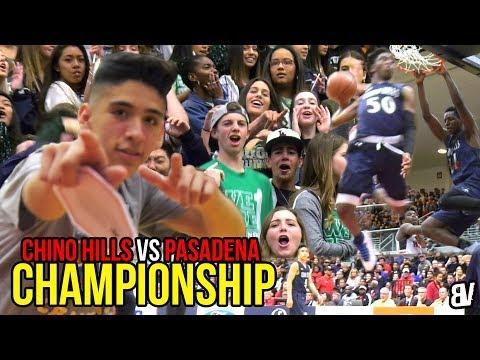 Chino Hills VS Pasadena CHAMPIONSHIP GAME! Will Pluma RETURNS & Chino Hills DOMINATES! DUNKFEST!