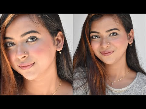Fresh Makeup Look For College ||  Affordable Makeup Products