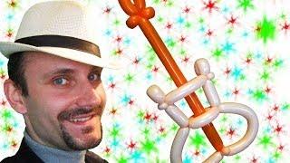 Гитара из шариков шдм аэродизайн ★ guitar from balloons
