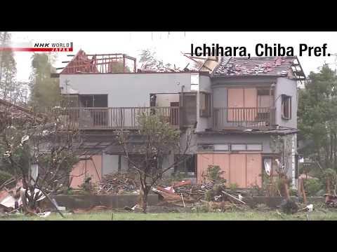 Typhoo In Japan 2019  NHK WORLD