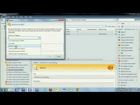 System Center 2012 Service Manager Incident Management