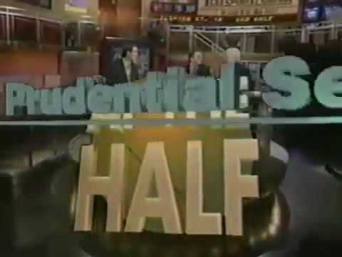 CBS Sports Prudential Securities At The Half Intro (1993)