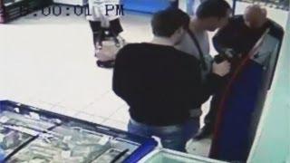 Мошенники обворовывали платежные терминалы с помощью лески