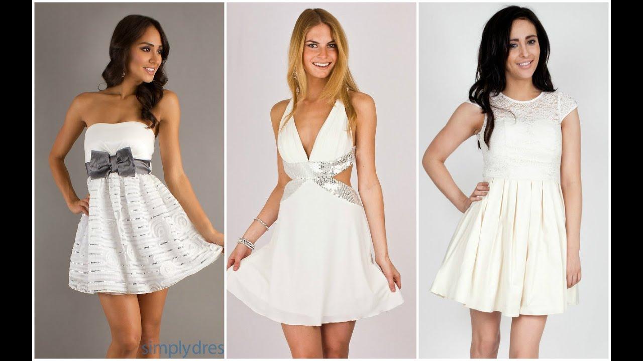 abb227d92 Exclusivos vestidos blancos de fiesta ♥ - YouTube