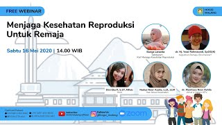Webinar (ft. Bunga Lenanta)   Menjaga Kesehatan Reproduksi Untuk Remaja