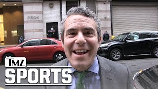 Andy Cohen Begs Giancarlo Stanton to Pick the Cardinals, We'll Worship You!! | TMZ Sports