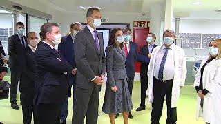 Los Reyes inauguran la transición escalonada del hospital de Toledo