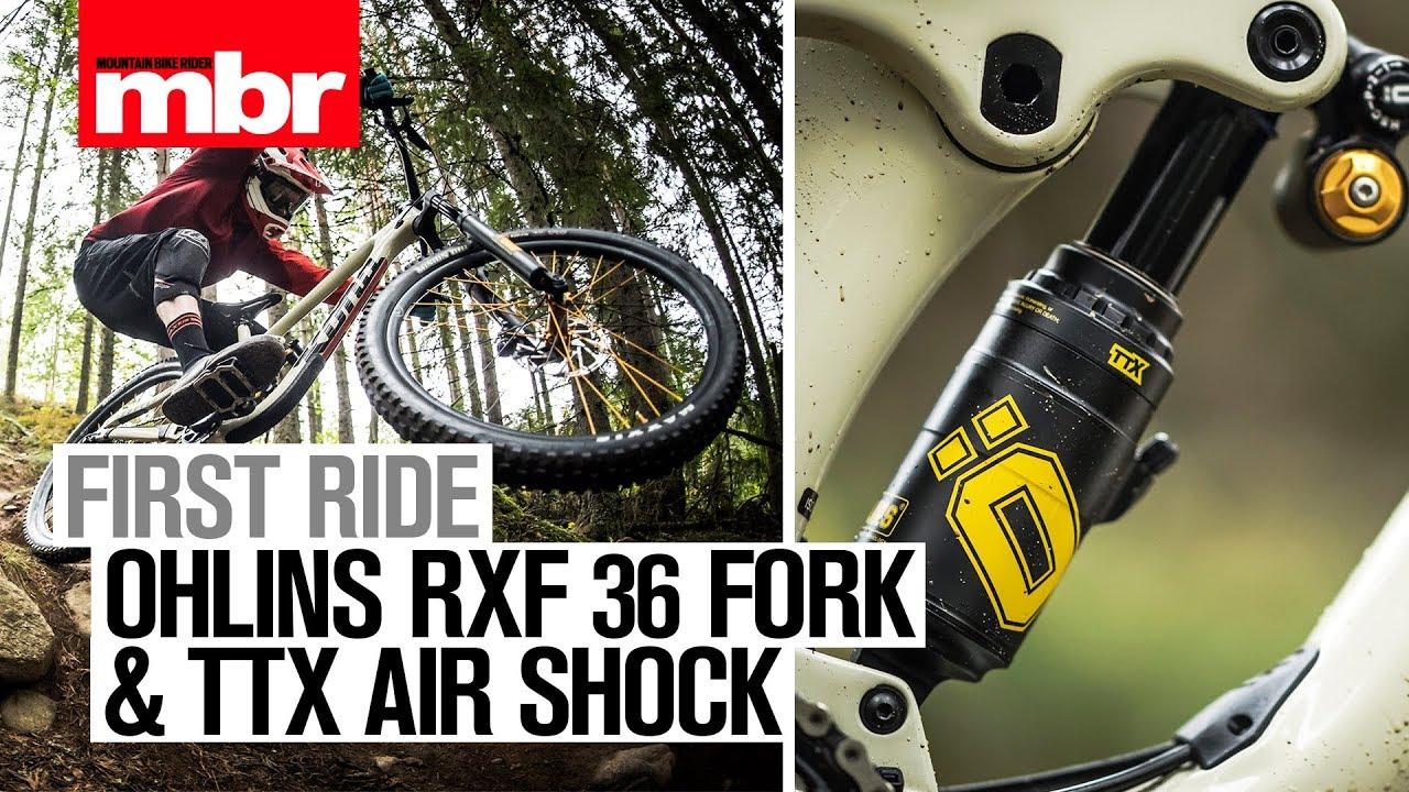 5d7262b3a8a Öhlins RFX 36 Fork & TTX Air Shock | First Ride | Mountain Bike Rider