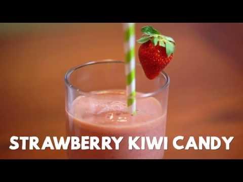 Strawberry Kiwi Candy Smoothie
