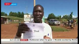More than 600 families protested over land in Uasin Gishu County