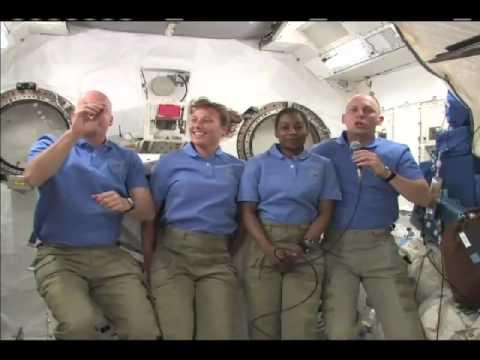 Former Teacher Calls Class from Space