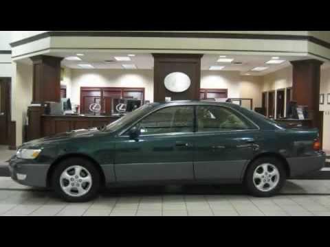 1998 Lexus ES 300 Cleveland OH 44135 Stock:18723PA VIN:JT8BF28G5W5051184  MetroLexus.com