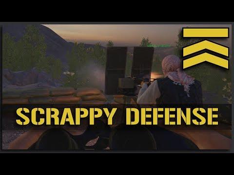 Scrappy Defense - Squad Gameplay Alpha v9.4 Squad Leader Full Match