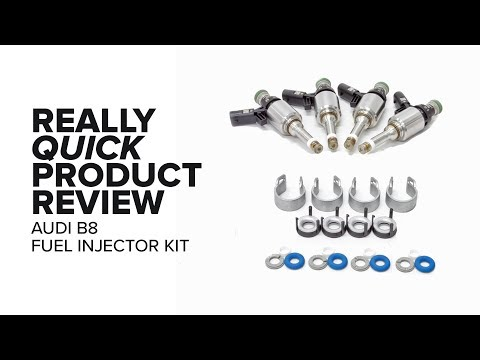 Audi B8 - 2.0T - Bosch Fuel Injectors - Specs, Common Problems, and Product Review