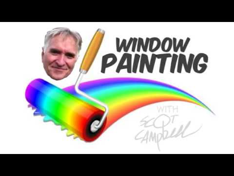 WINDOW PAINTING - COIN SHOP