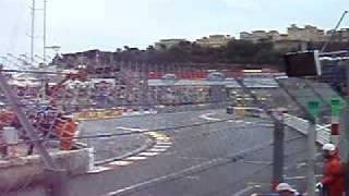 Rosberg crash Monaco gp F1 2008