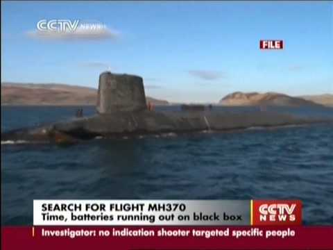 Time, batteries running out on black box of MH370