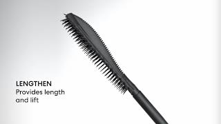 New STRENGTH & LENGTH Mascara's Patent-Pending Paddle Brush | bareMinerals