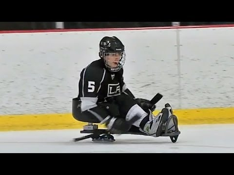 Kings sponsor sled hockey for the disabled