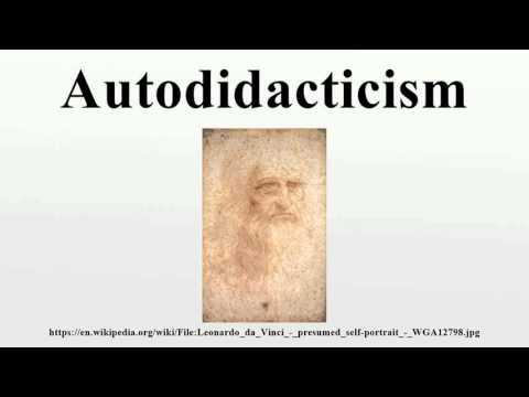Autodidacticism