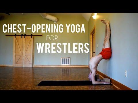 yoga for wrestlers  flexibility training for shoulders