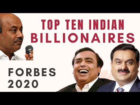 Top Ten Indian Billionaires - Forbes List 2020