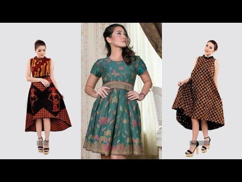Wow Inilah Model Baju Batik Wanita Gemuk Terlihat Langsing Youtube