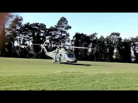 Irish Defence Forces Helicopter Take Off