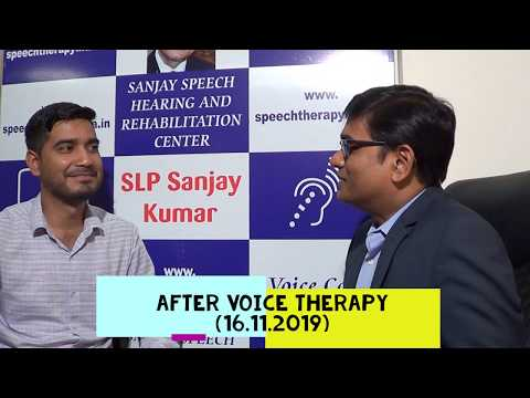 slp-sanjay-kumar:-pre-post-soft-voice-therapy-|-within-8-days-|-feminine-voice