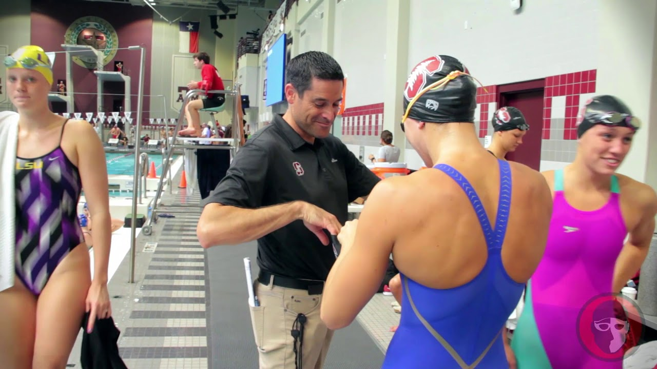 A day in the meet life stanford women 39 s swimming youtube - San diego state university swimming pool ...
