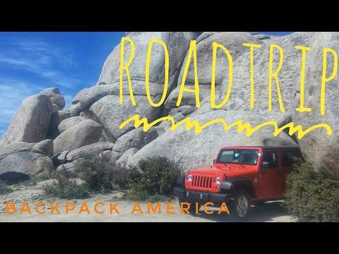 Roadtrip - Arizona to Las Vegas - Backpack America