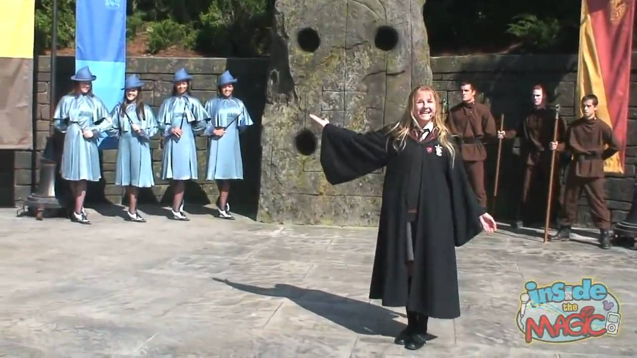 Beauxbatons Girls And Durmstrang Guys Perform At The Wizarding World Of Harry Potter Youtube Durmstrang institute was founded by nerida vulchanova of bulgaria, a powerful witch, but whose death was mysterious. beauxbatons girls and durmstrang guys perform at the wizarding world of harry potter