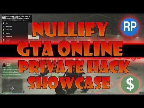 GTA 5 Online PC - Nullify 1 43 Private Hack/Mod Menu