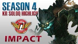 SKT T1 Impact - Maokai vs Galio - KR SoloQ Highlights